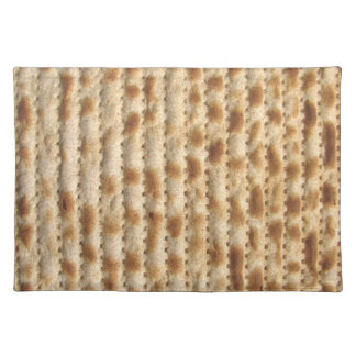 Matzah placemat - kosher for passover seder cloth place mat