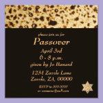 Matzah Star of David Card