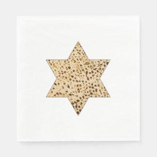 Matzah Star of David Paper Napkin