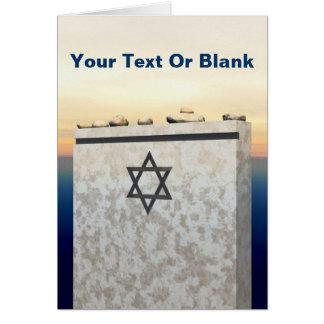Matzevah Donation Card