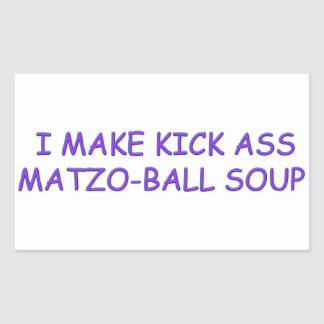 MATZO-BALL MASTER STICKER