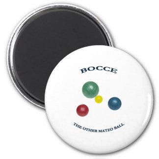 Matzo Bocce Ball 2 Inch Round Magnet