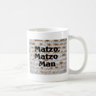 Matzo, hombre del Matzo Tazas De Café