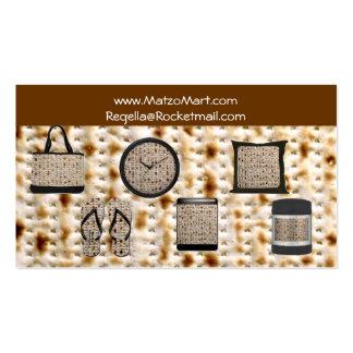 matzo mart business card