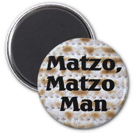 Matzo, Matzo Man Magnet