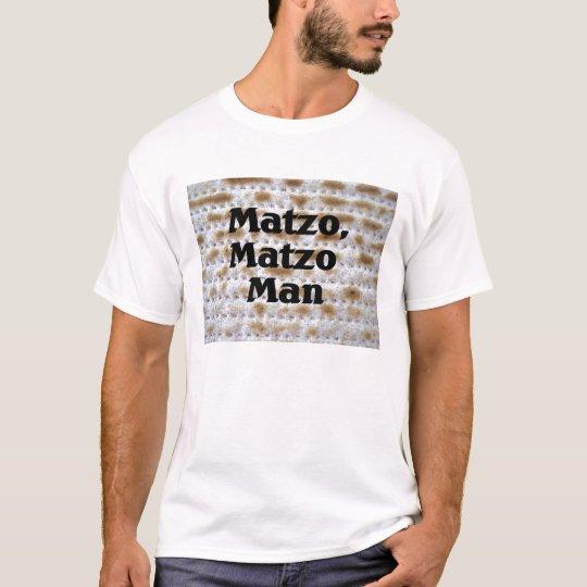 Matzo, Matzo Man Passover Pesach shirt