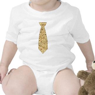 Matzo Passover Tie Baby Bodysuit