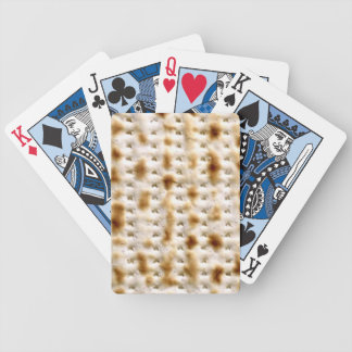 Matzo Playing Cards! - not just for Pesach anymore Bicycle Playing Cards