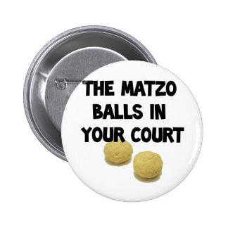 matzoh balls 2 inch round button