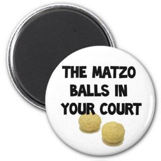 matzoh balls 2 inch round magnet