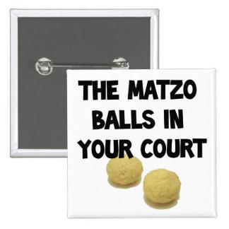 matzoh balls 2 inch square button
