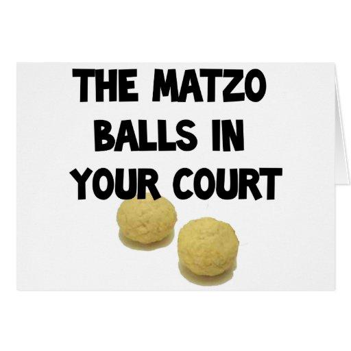 matzoh balls card