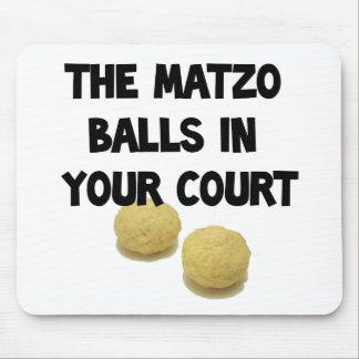 matzoh balls mouse pad