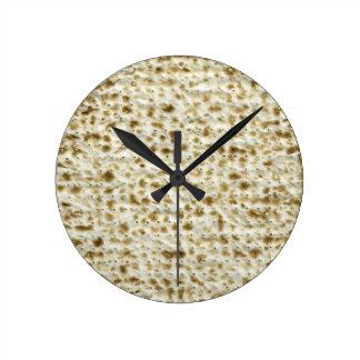 Matzoh Round Wall Clock