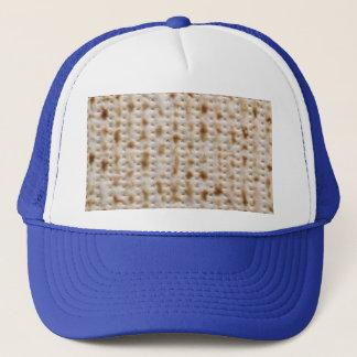 Matzoh Kippah Passover Pesach Seder Hat, blue Trucker Hat