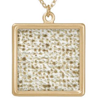 Matzoh Square Pendant Necklace