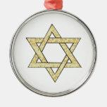 Matzoh Star of David Christmas Ornaments