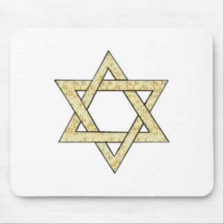 Matzoh Star of David Mouse Pad