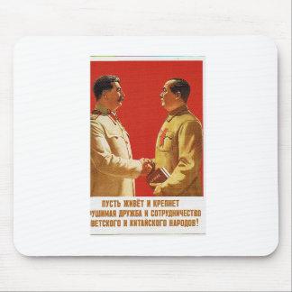 mau del presidente de la reunión de stalin tapetes de ratones