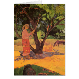 'Mau Taporo' - Paul Gauguin Card