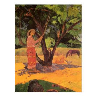 'Mau Taporo' - Paul Gauguin Postcard