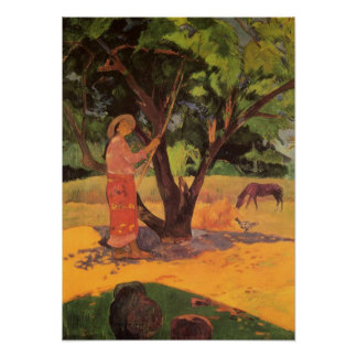 'Mau Taporo' - Paul Gauguin Poster