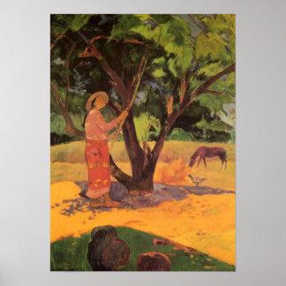 'Mau Taporo' - Paul Gauguin Print