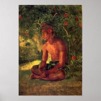 'Maua, A Samoan' - John LaFarge Print
