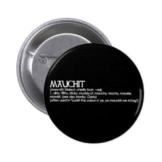 Mauchit Pinback Button