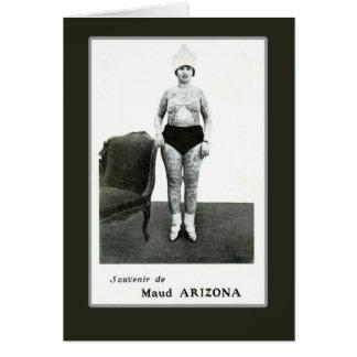 Maud Arizona, Tattooed Wonder Lady Card