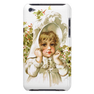 Maud Humphrey: Autumn Girl with Holly iPod Touch Case