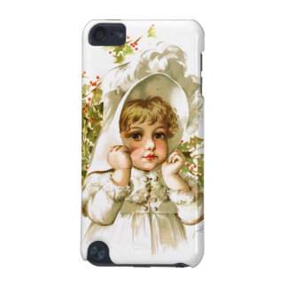 Maud Humphrey: Autumn Girl with Holly iPod Touch 5G Covers