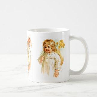 Maud Humphrey: Autumn Girls Classic White Coffee Mug