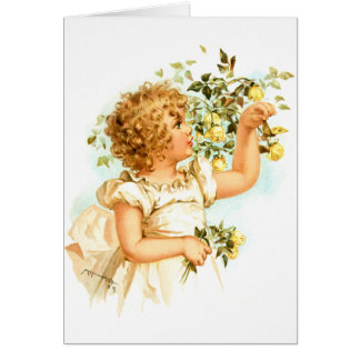 Maud Humphrey: English Child Greeting Card
