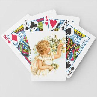 Maud Humphrey: English Child Bicycle Playing Cards