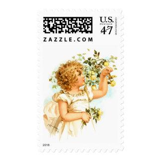 Maud Humphrey: English Child Postage