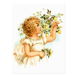 Maud Humphrey: English Child Postcard