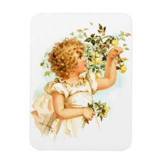 Maud Humphrey: English Child Rectangular Magnets