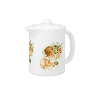 Maud Humphrey: English Child Teapot