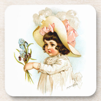 Maud Humphrey: French Child Drink Coaster