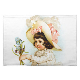 Maud Humphrey: French Child Placemat