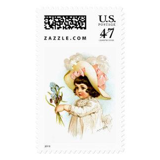 Maud Humphrey: French Child Postage