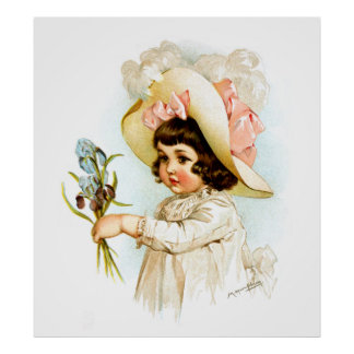 Maud Humphrey French Child Print