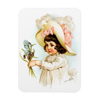 Maud Humphrey: French Child Rectangular Magnets