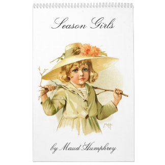 Maud Humphrey: Season Girls Wall Calendars