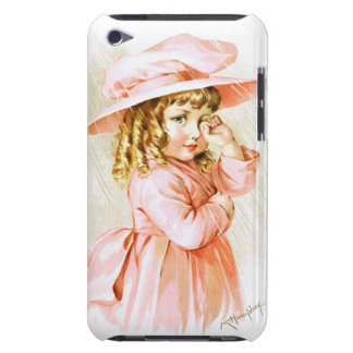 Maud Humphrey: Spring Girl in the Rain iPod Case-Mate Cases