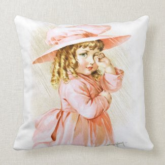 Maud Humphrey: Spring Girl in the Rain