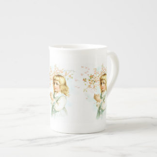 Maud Humphrey: Spring Girl under the Orchard Tree Tea Cup