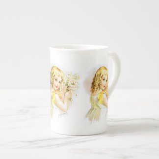 Maud Humphrey: Summer Girl with Daisies Tea Cup