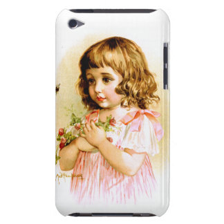 Maud Humphrey: Summer Girl with Flowers and Bee Barely There iPod Case